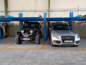 پارکینگ مکانیزه دبل-اسمارت پارکینگ- smart parking- HL2
